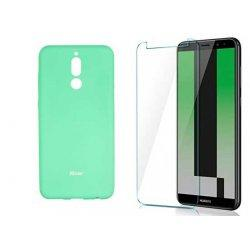 Silikonski etui Roar, mint+ zaščitno steklo za Huawei Mate 10 Lite