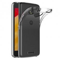 Silikonski etui za Motorola Moto C, 0,3mm, Prozorna barva