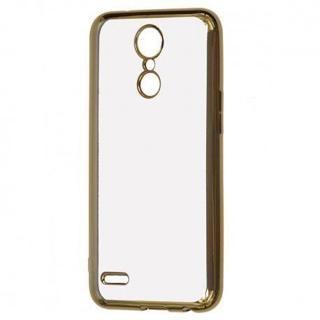 """Etui """"Electro Jelly"""" za LG K8 2017, zlata barva"""