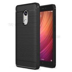 "Etui ""Carbon Case"" za Xiaomi Redmi Note 4, črna barva"