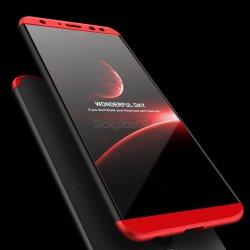 Etui Hybrid 360 za Huawei Mate 10 Lite, rdeče črna barva