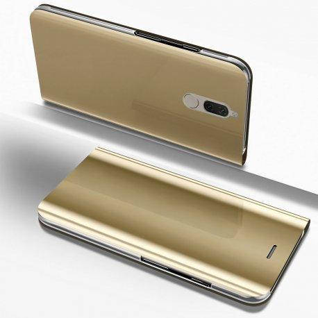 "Preklopna Torbica ""Mirror"" za Huawei Mate 10 Lite, Zlata barva"