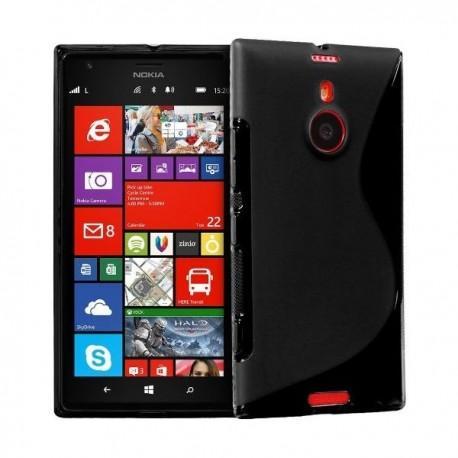 Silikon etui za Nokia Lumia 1520 +Folija Gratis , Črna barva