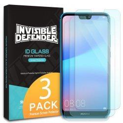 Ringke ID Glass zaščitno steklo za Huawei P20 Lite (3 pack)