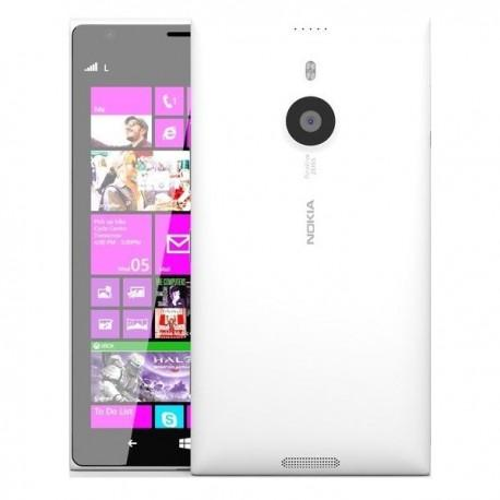 Silikon etui za Nokia Lumia 1520 +Folija ekrana ,Bela mat barva