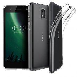Silikonski etui za Nokia 2, 0,3mm, Prozorna barva