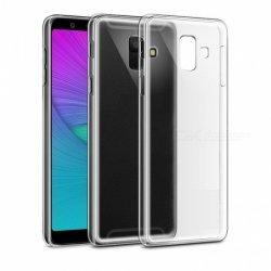 Silikonski etui za Samsung Galaxy A6 Plus 2018, 0,3mm, Prozorna barva