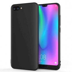 Silikonski etui za Huawei Honor 10, 0,5mm, Črna barva
