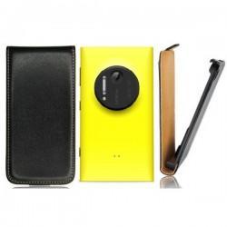 Torbica za Nokia Lumia 1020 Preklopna,Črna barva