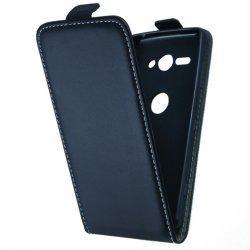 "Preklopna torbica, etui ""flexi"" za Sony Xperia XZ2 Compact, črna barva"