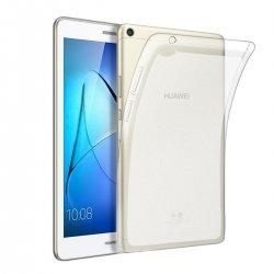 Silikonski etui za Huawei MediaPad T3 8.0, Prozorna barva