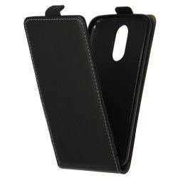 "Preklopna torbica, etui ""flexi"" za LG Q7, črna barva"