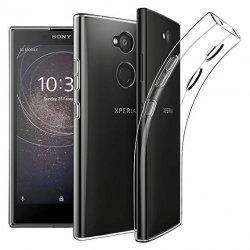 Silikonski etui za Sony Xperia L2, 0,3mm, Prozorna barva
