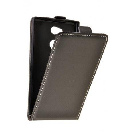 "Preklopna torbica, etui ""flexi"" za Sony Xperia L2, črna barva"