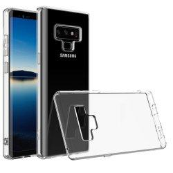 Silikonski etui za Samsung Galaxy Note 9, 0,3mm, Prozorna barva