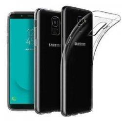 Silikonski etui za Samsung Galaxy J6 2018, 0,3mm, Prozorna barva