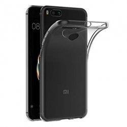 Silikonski etui za Xiaomi Mi A1, 0,3mm, Prozorna barva