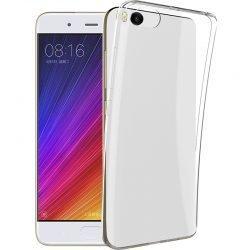 Silikonski etui za Xiaomi Mi 5S, 0,3mm, Prozorna barva