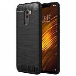 "Etui ""Carbon Case"" za Xiaomi Pocophone F1, črna barva"