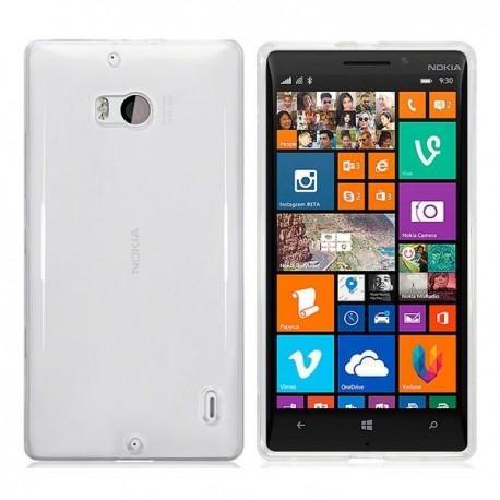 Silikon etui za Nokia Lumia 930+Folija ekrana Bela Mat barva