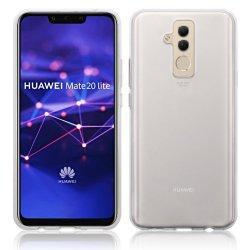 Silikonski etui za Huawei Mate 20 Lite, 0,3mm, Prozorna barva