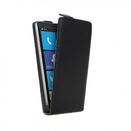 Torbica za Nokia Lumia 930 Preklopna + Zaščitna folija ekrana Črna barva
