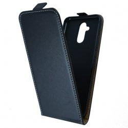 "Preklopna torbica, etui ""flexi"" za Huawei Mate 20 Lite, črna barva"