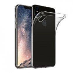 Silikonski etui za Apple iPhone XS Max, 0,3mm, Prozorna barva