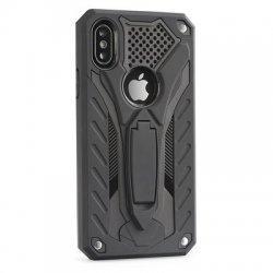 "Etui ""Phantom"" za Apple iPhone XR, črna barva"