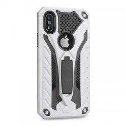 "Etui ""Phantom"" za Apple iPhone XR, srebrna barva"