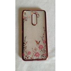 "Etui ""Diamond Case"" za Xiaomi Pocophone F1, pink barva"