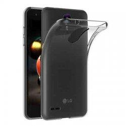Silikonski etui za LG K9, 0,3mm, Prozorna barva