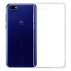 Silikonski etui za Huawei Y5 2018, 0,3mm, Prozorna barva