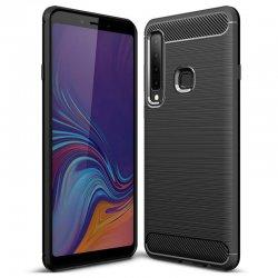 "Etui ""Carbon Case"" za Samsung Galaxy A9 2018, črna barva"