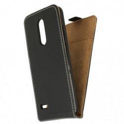 """Preklopna torbica, etui """"flexi"""", črna barva - LG K9"""