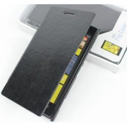 Torbica za Nokia Lumia 925 Preklopna, Črna barva