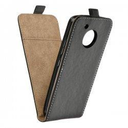 "Preklopna torbica, etui ""flexi"" za Motorola Moto G5s Plus, črna barva"
