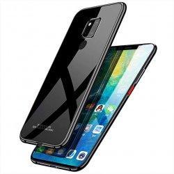 Glass Case za Huawei Mate 20 Pro, črna barva