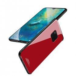 Glass Case za Huawei Mate 20 Pro, rdeča barva