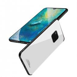 Glass Case za Huawei Mate 20 Pro, bela barva