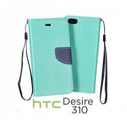 Preklopna Torbica za HTC Desire 310 Mint barva