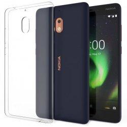 Silikonski etui za Nokia 2.1, 0,3mm, Prozorna barva