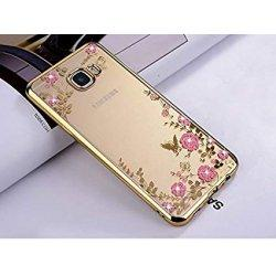 "Etui ""Diamond Case"" za Samsung Galaxy J4 Plus, zlata barva"