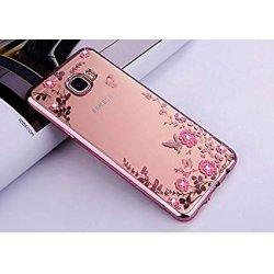"Etui ""Diamond Case"" za Samsung Galaxy J4 Plus, pink barva"