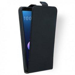 """Preklopna torbica, etui """"flexi"""" za HTC U12 Plus, črna barva"""
