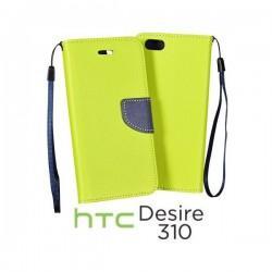Preklopna Torbica za HTC Desire 310 Limona barva