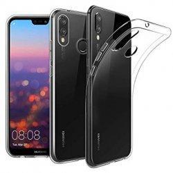 Silikonski etui za Huawei Honor 8X, 0,3mm, Prozorna barva