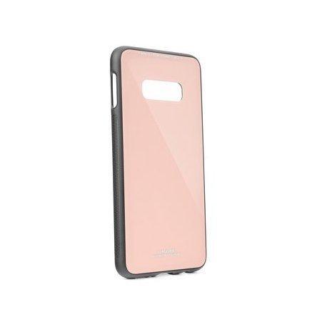 Glass Case za Samsung Galaxy S10, pink barva
