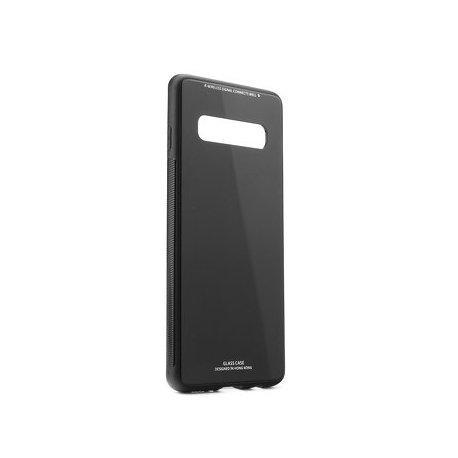 Glass Case za Samsung Galaxy S10, črna barva