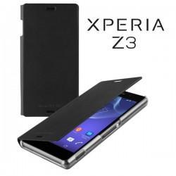 Torbica za Sony Xperia Z3 Preklopna ,Book Case - Črna Barva SMA5151B